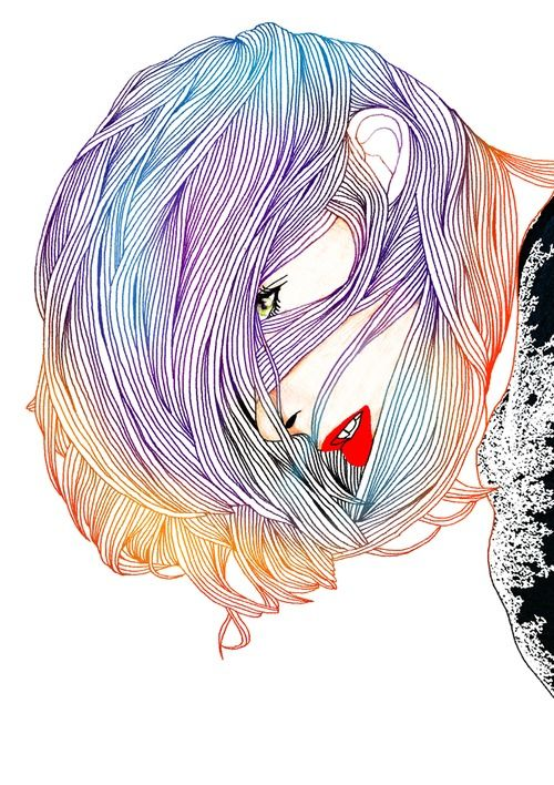 South Korean artist Hajin Bae is an illustrator, graphic designer and art director based in Seoul.