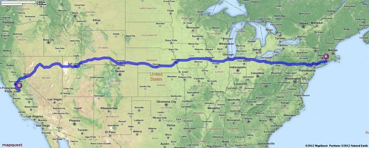 Our trip! Driving Directions from Groton, Connecticut to Oakdale, California | MapQuest