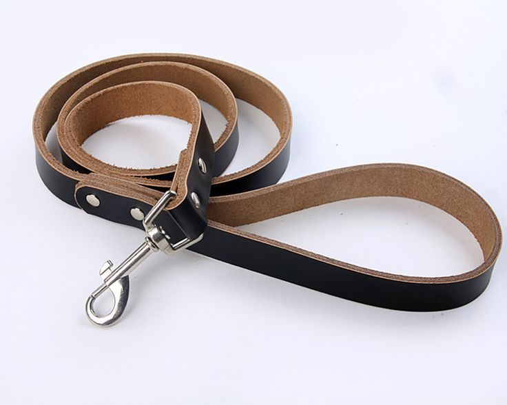 Домашнее животное собака домашнее животное сплошной цвет натуральная кожа поводок коричневый красный черный синий розовый для домашние животные собаки и