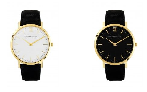 minimal alternative if i dont see another chunky gold michael kors watch again, itll be too soon. wishlisting one of these slimline larsson jennings beauties: