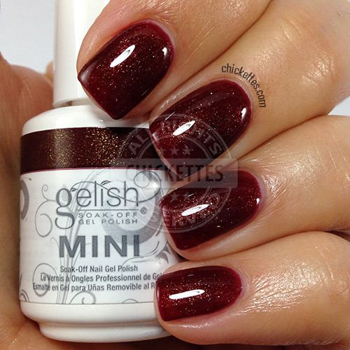 Gelish I'm Snow Angel - swatch by Chickettes.com