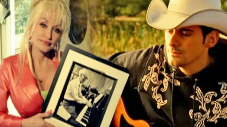 Dolly Parton Brad Paisley Unite To Deliver A Look At Heaven With When I Get Where I M Going Classic Countr Dolly Parton Country Music Videos Brad Paisley