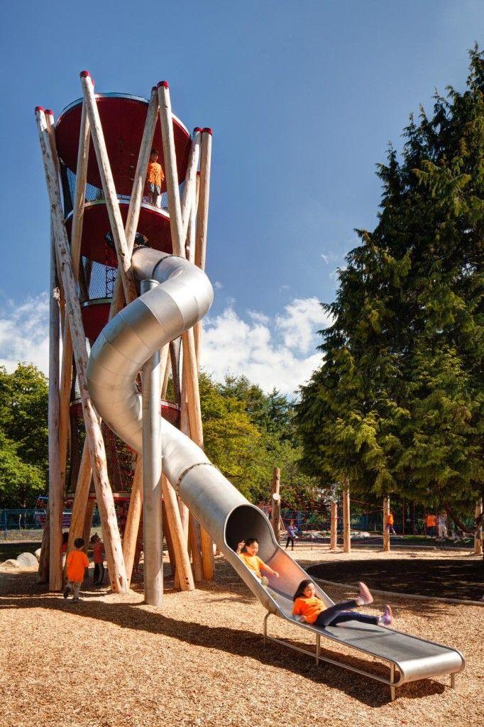 Terra Nova Playscape, Hapa Collaborative & WildPlay, Richmond British Columbia, 2014