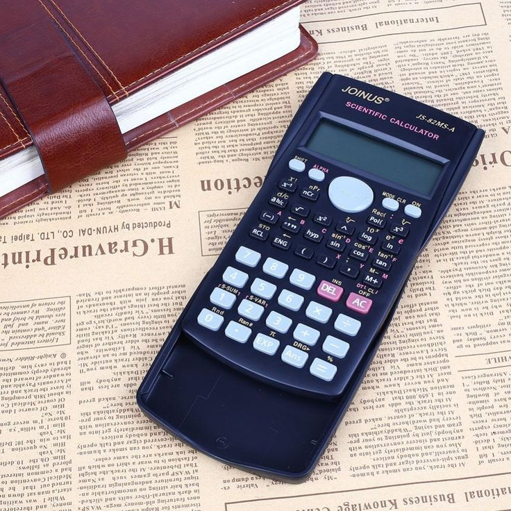 82MS-A Handheld Portable Solar Panel Multi-function 2 Line Display Scientific Calculator