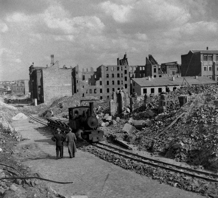 Rebuilding Of Kassel, Germany May 1947