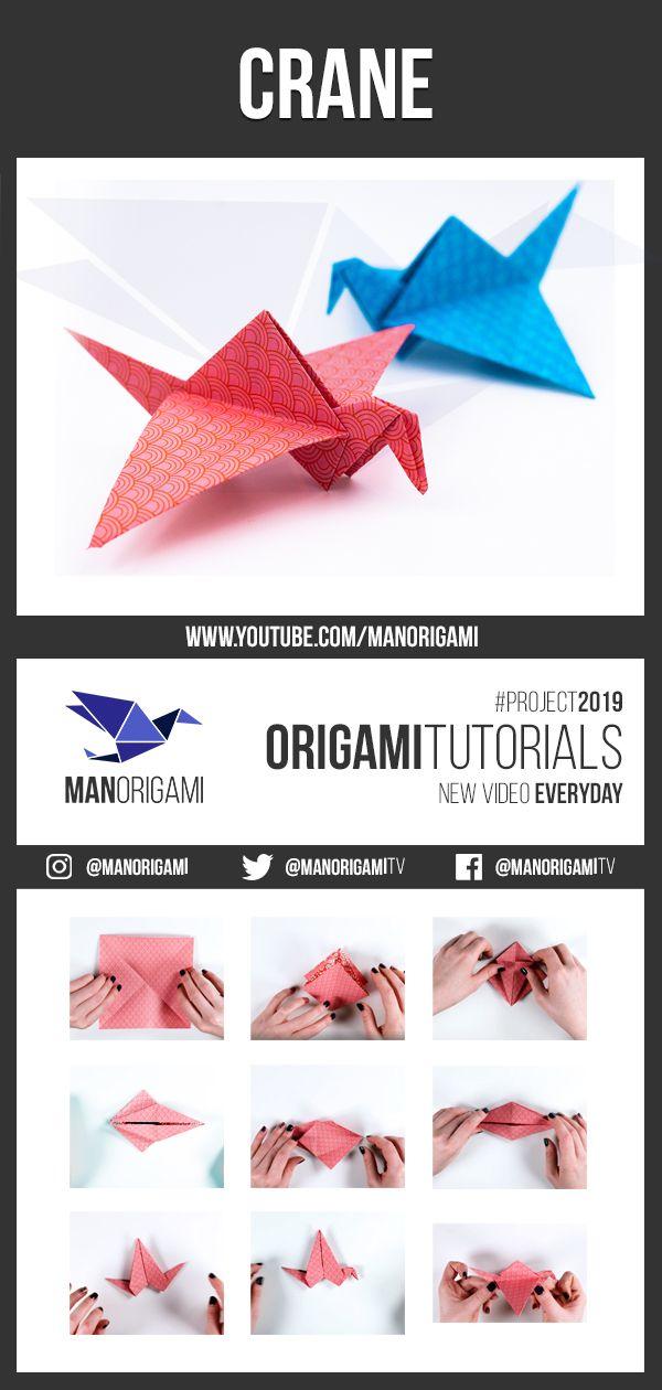 How to make classic origami crane! - YouTube | 1260x600