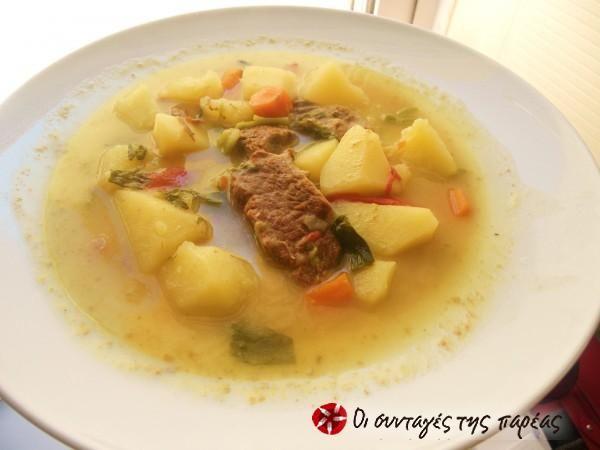 Μοσχάρι σούπα  #sintagespareas