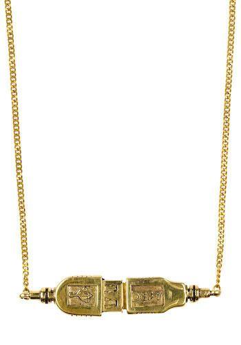 golden USB