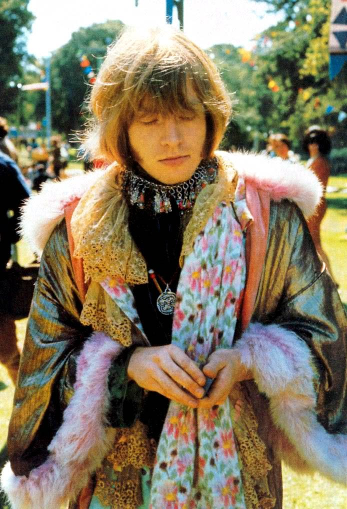 "soundsof71: "" Brian Jones at the Monterey Pop Festival, 1967, by Jim Marshall """