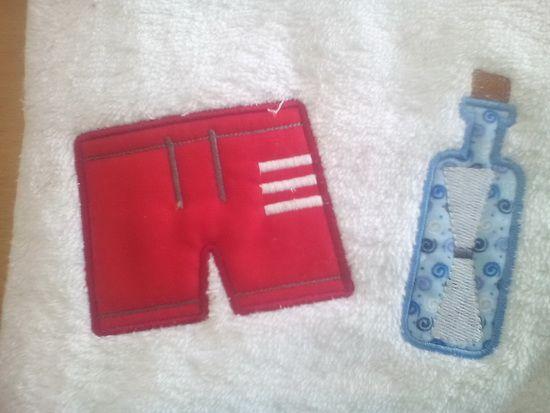Fun in the sun with these nautical and beach themed appliques. Easy to make with their low stitch counts and low colour changes. The set has three sizes included. There are four different sets that can be used in combination, collect them all and get busy!! http://tinyurl.com/hyppqj4