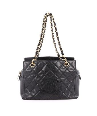 0aa6d6358578 CHANEL PRE-OWNED: PETITE TIMELESS TOTE QUILTED CAVIAR. #chanel #bags #hand  bags #tote #