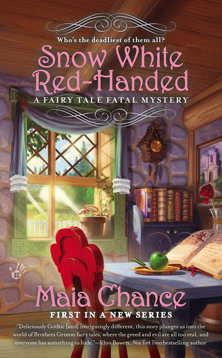 Snow White Red-Handed (A Fairy Tale Fatal Mystery Book 1)