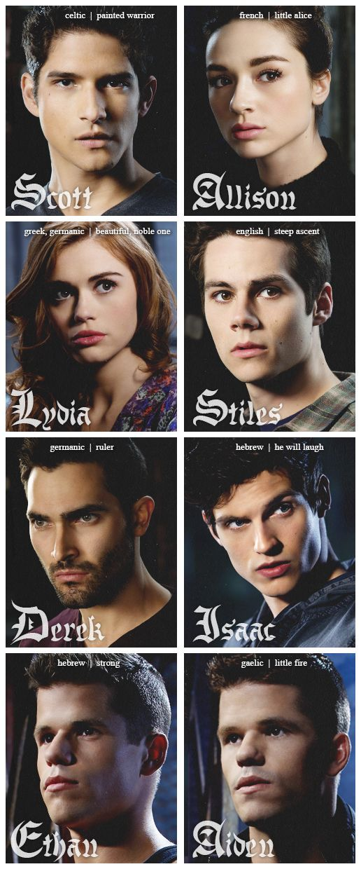 Teen Wolf. Love these people!!