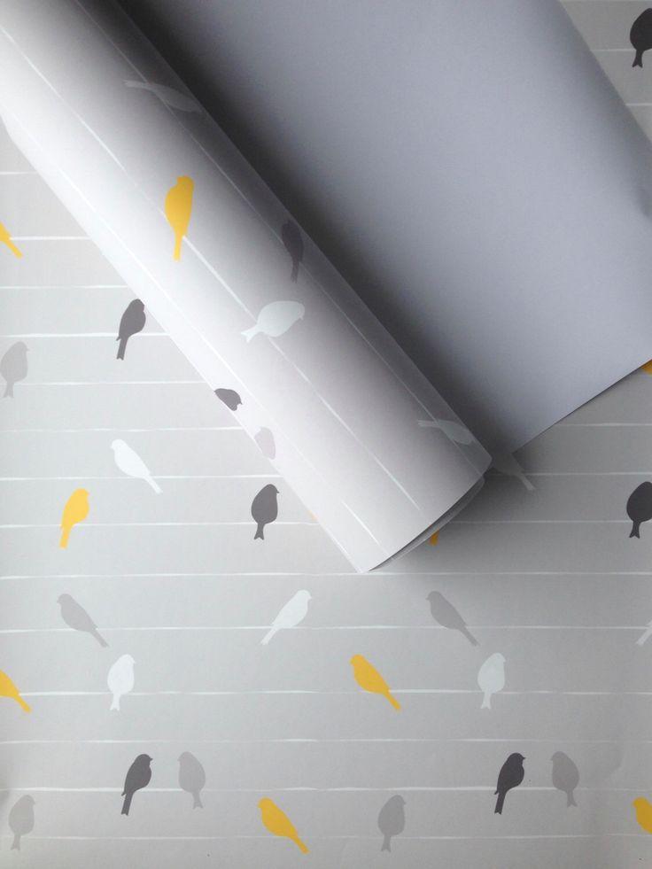 25 best ideas about bird wallpaper on pinterest powder for Angry birds wallpaper mural