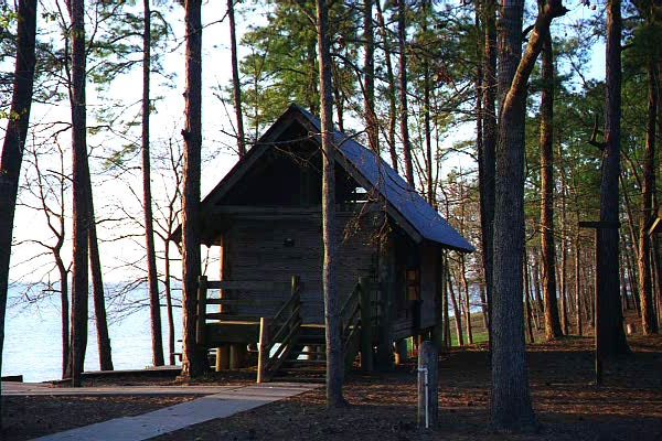 Lake livingston state park cabins lakefront my for Cabins near lake livingston
