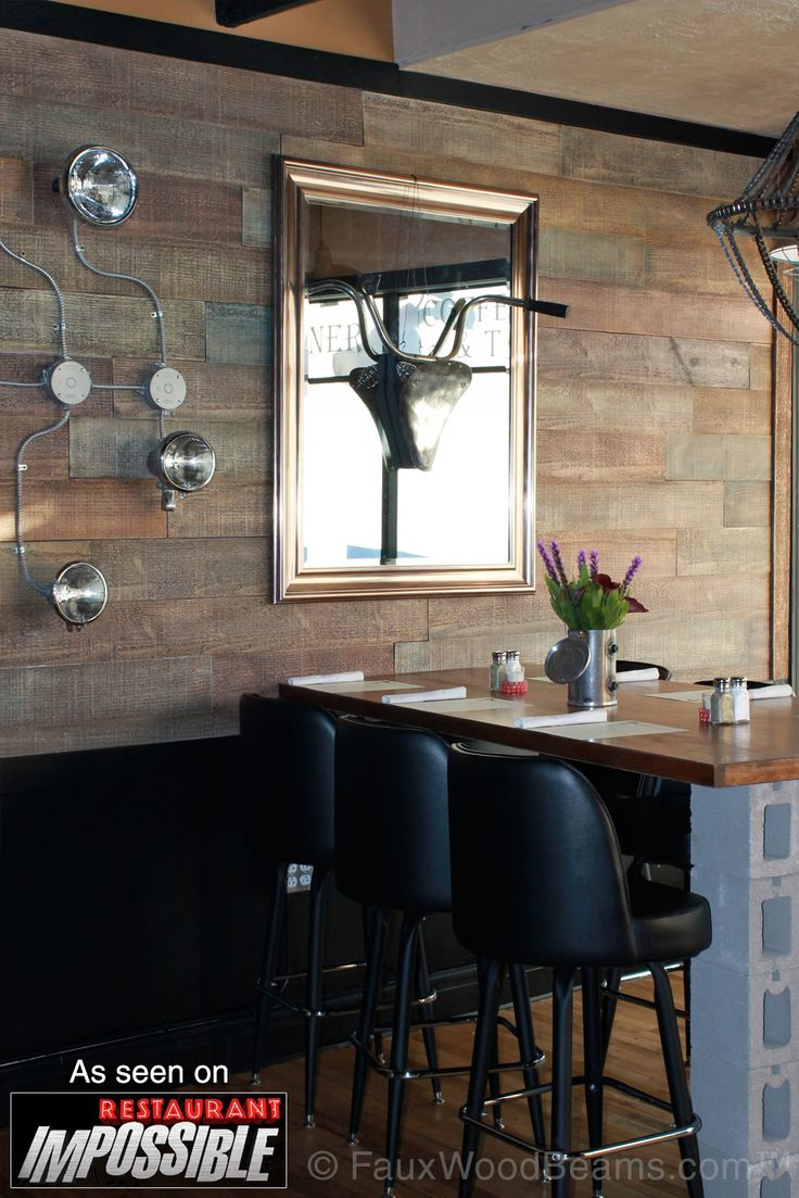 Affordable Restaurant Dcor With Beams