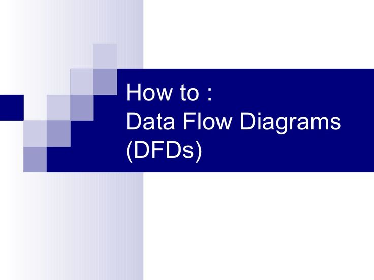 Data flow diagrams for dummies by Cazoomi  via Slideshare