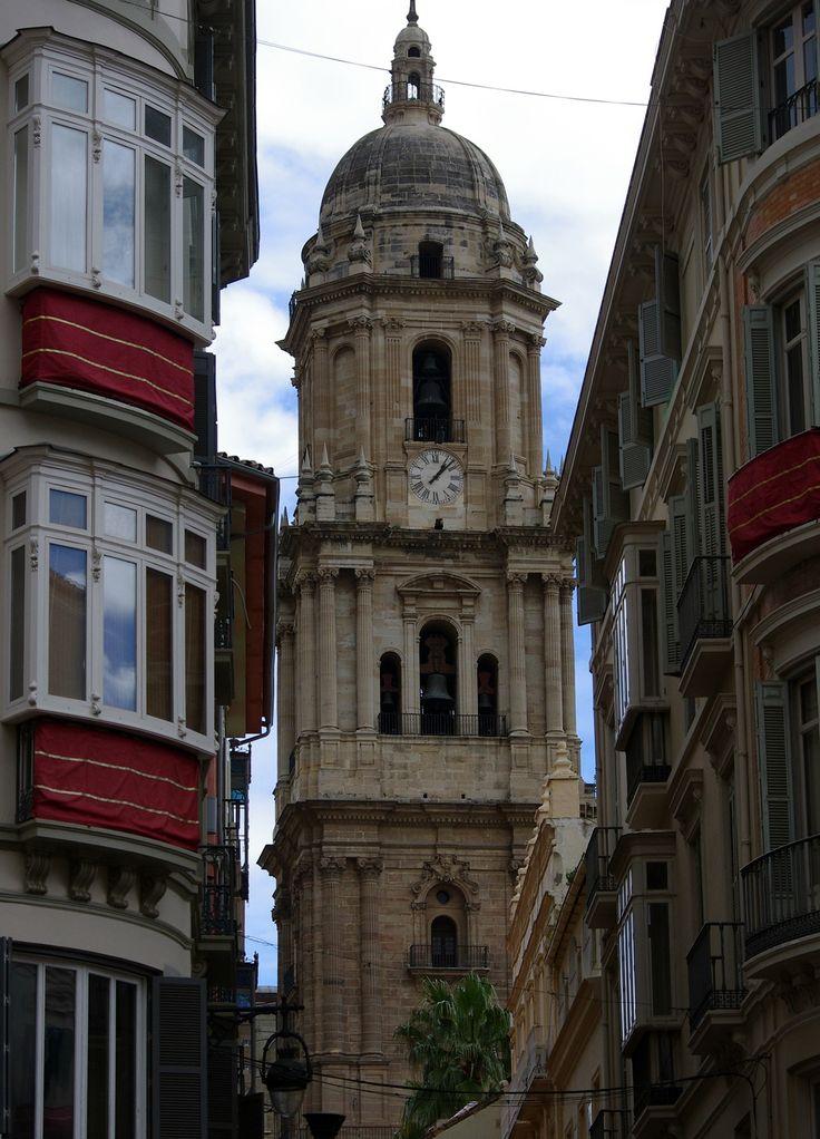 Catedral  desde Calle Larios