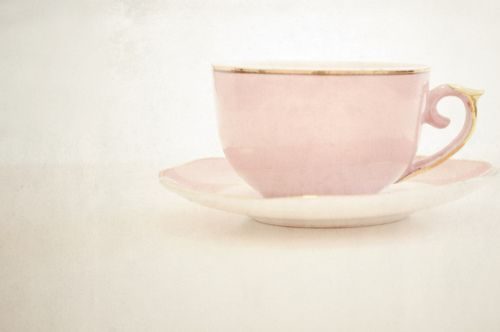 I have these pink cups and saucers!  If anyone is interested in buying them.