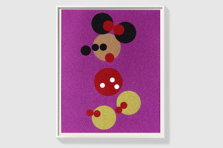 Damien Hirst Offers His Take on Disney's Mickey and Minnie | Highsnobiety