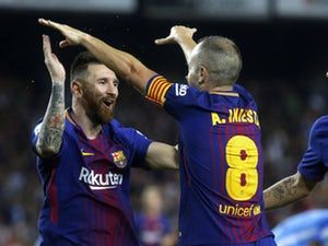 Andres Iniesta: '600 games nothing for Lionel Messi' #Barcelona #Football #311267