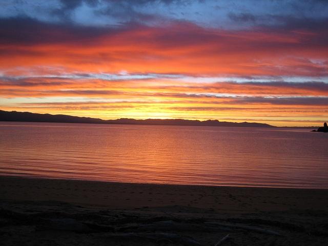 Tata sunset, stunning evening.