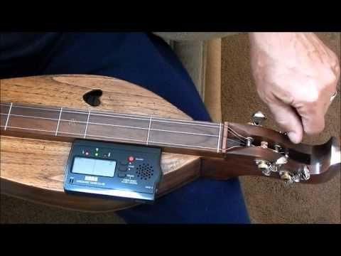 Dulcimer Tuning: DAD to DAA - YouTube