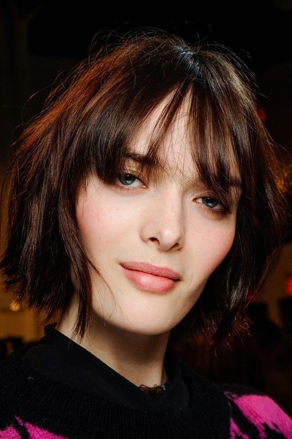 Cheaply Black hair with fringe
