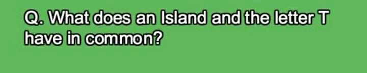 #islands #jokes #riddle #green #fun #games #children #kids #education #brainteaser #puzzle