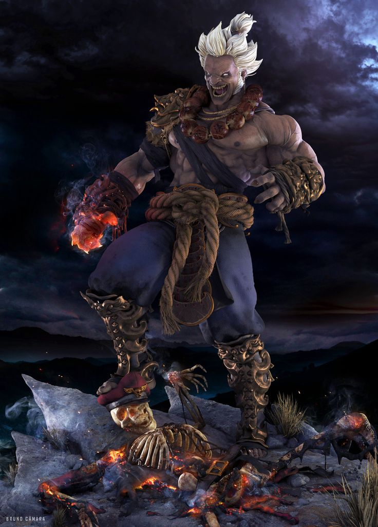 25 Best Ideas About Akuma Street Fighter On Pinterest