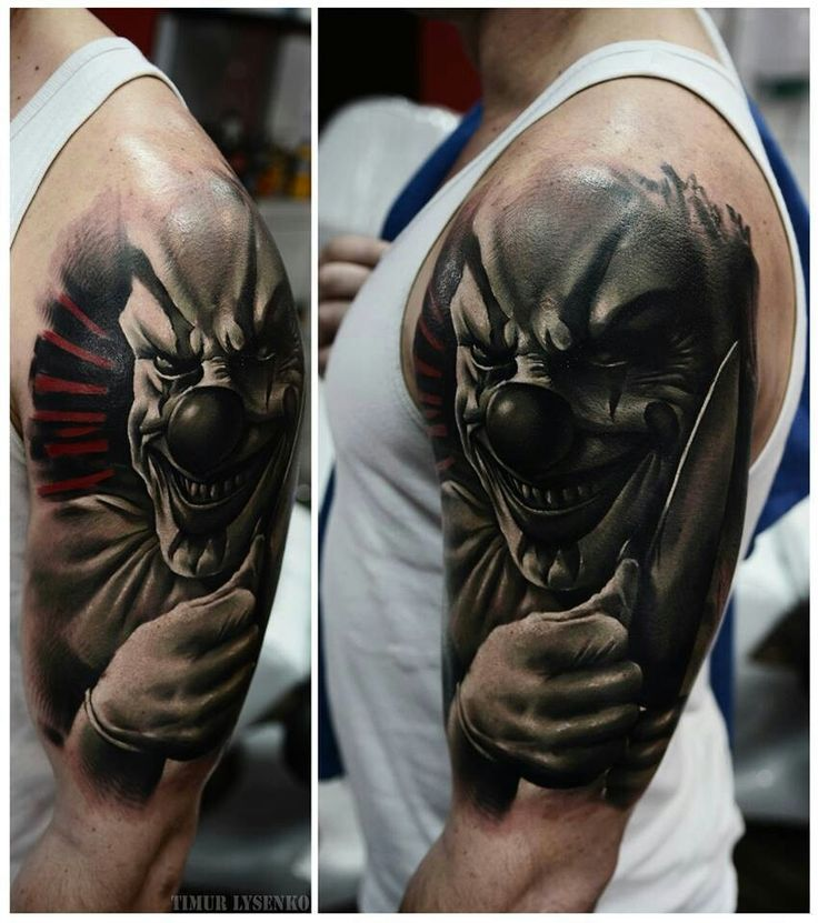 Killer Clown Tattoo Designs Jpeg Killer Clown Tattoo