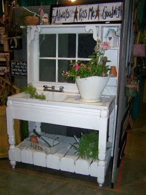 41 Best Potting Tables Amp Benches Images On Pinterest