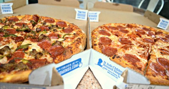 Plan A Pizza Night This Week On The Cheap Thanks To This Domino S Pizza Deal Domino S Pizza Dominos Pizza Deals Dominos Pizza
