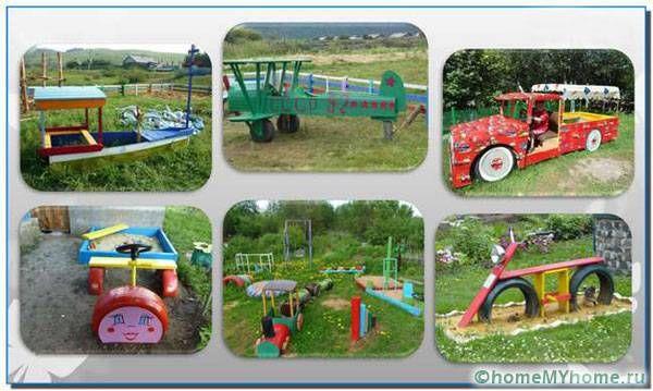 идеи для детской площадки своими руками в детском саду: 10 ...