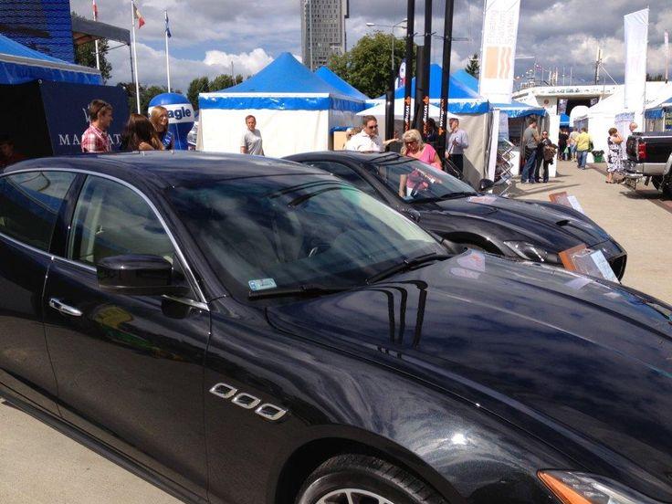 #Quattroporte GTS z silnikiem V8, 3.0 bi-turbo o mocy 530 KM na Targach Wiatr i Woda w Gdyni.