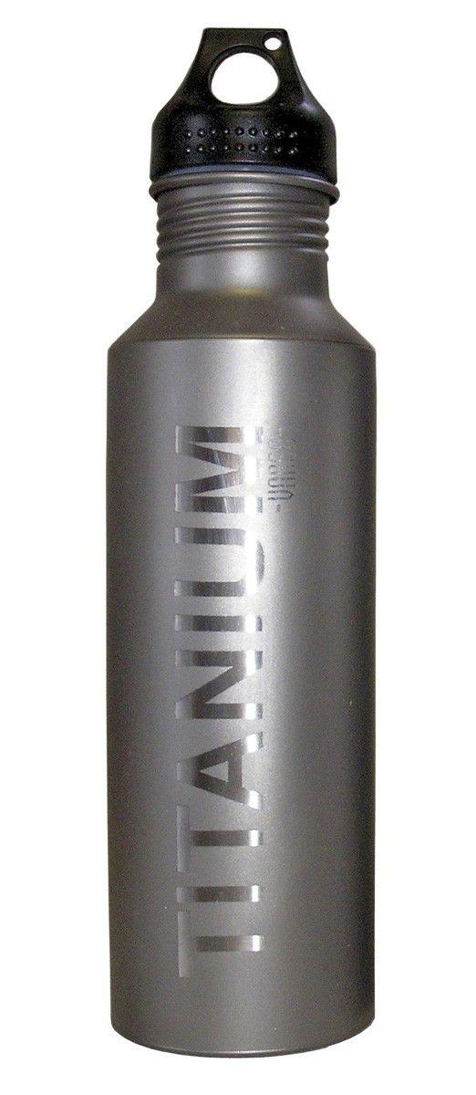 Παγούρι Τιτανίου Vargo 650 ml Με Πλαστικό Καπάκι | www.lightgear.gr
