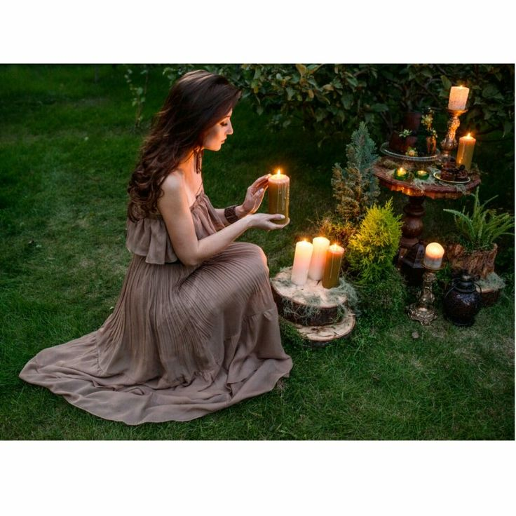 Boho, candles, party