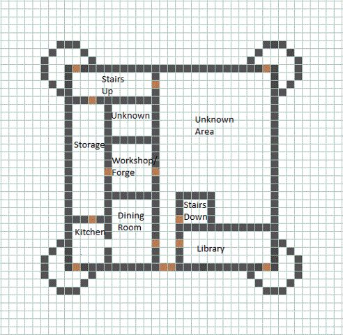 Minecraft castle blueprint is a great idea for a scavenger hunt map.