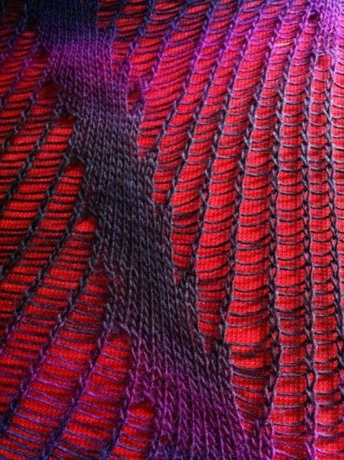 drop stitch diagonal