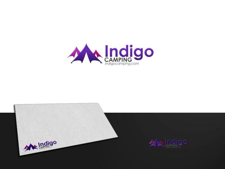 Logo Design by ArtSamurai for Indigo Camping - Bell Tent & Yurt camps along the River Nene, UK - Design #504911