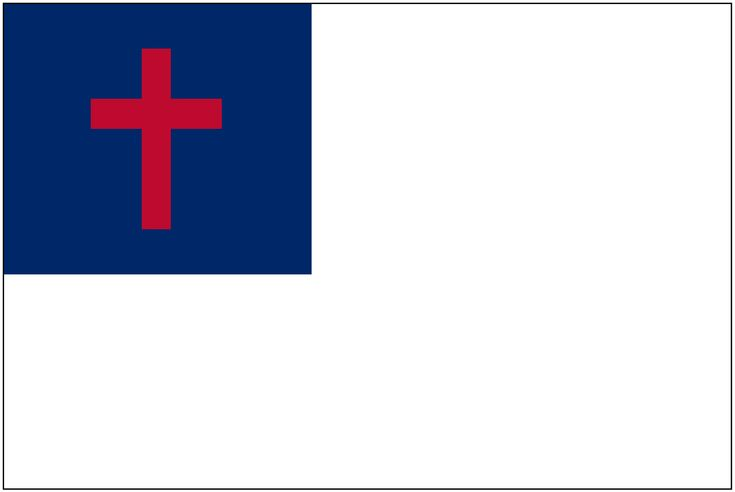 Christian Flag Image - Children's Bible Activities | Sunday School Activities for Kids