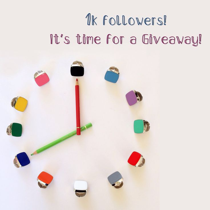 Today I reached 1.000 followers on my Instagram page!  It's time for a Giveaway ! To participate, just go to this link https://instagram.com/p/BQtCEcugnTo/ and leave a message, tagging two friends who might be interested in this giveaway! Good luck!