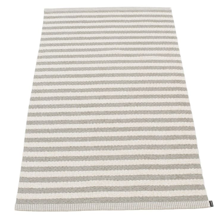 Duo teppe, varm grå/hvit i gruppen Tepper / Tepper / Plast hos ROOM21.no (132842r)