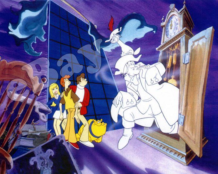 Rare! FUNKY PHANTOM Cartoon Color TV Photo HANNA BARBERA Studios
