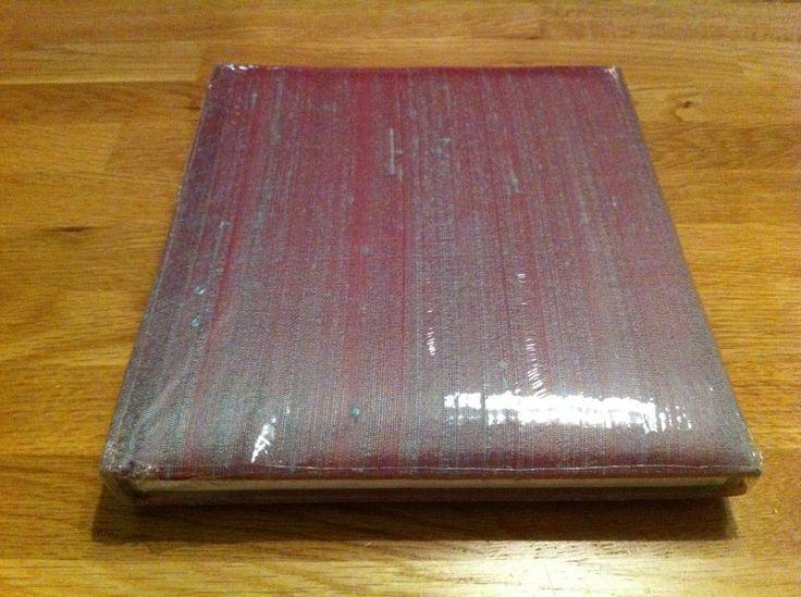 receptieboek ae 525 roze/groen van changeant-zijde