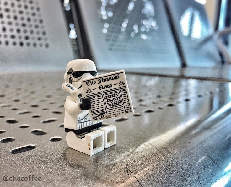 May the 4th be with you... #starwars #lego #stormtrooper by chacoffee
