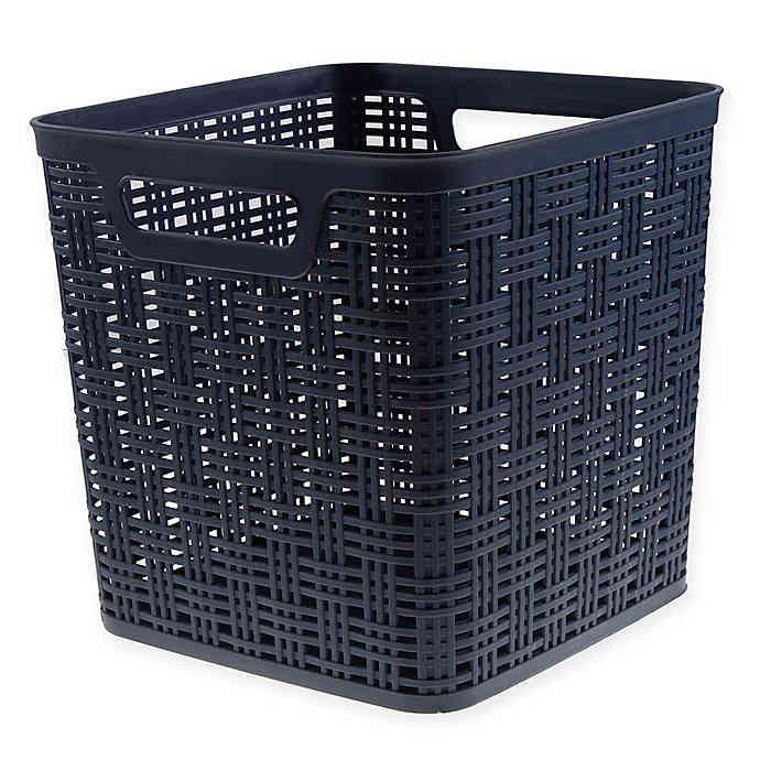 Plastic Storage Basket Bed Bath Beyond Wicker Baskets Storage Tall Storage Baskets Storage Baskets