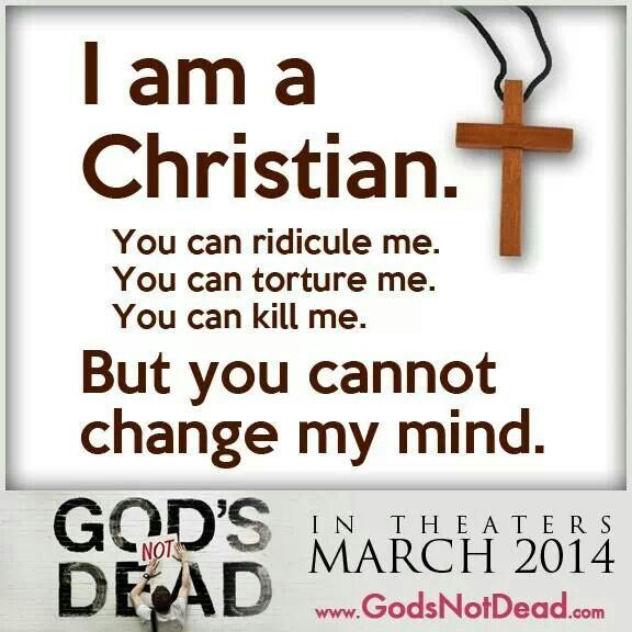 Gods Not Dead movie march 2014!! Must go see!! It's gunna be great!! God is NOT dead!