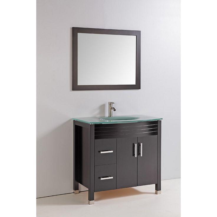 Elegant Oak Bathroom Vanity Cabinets