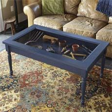 14 best Shadow box tables images on Pinterest